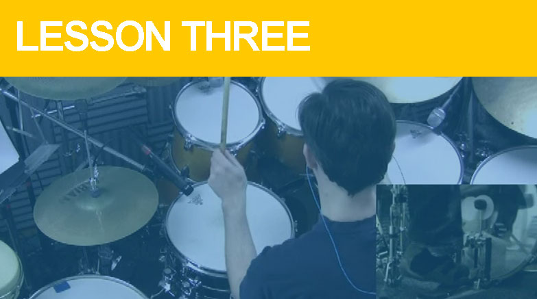 Beginner Drum Lesson 3