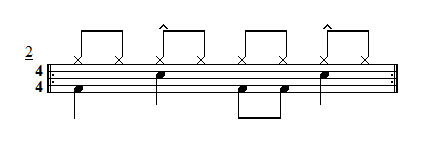 Exercise 2 - Straight 4/4 Groove