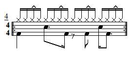 Intermediate Drum Lesson - Hi-Hat Accents - Exercise 4