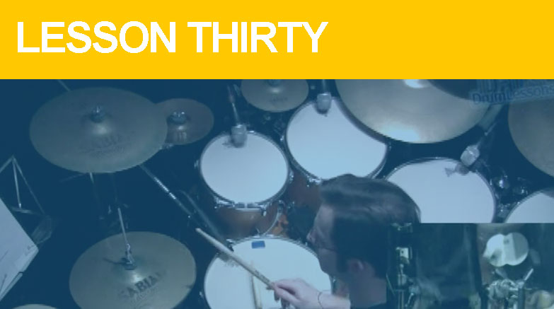 Intermediate Drum Lesson Thirty - House Grooves for Drummers